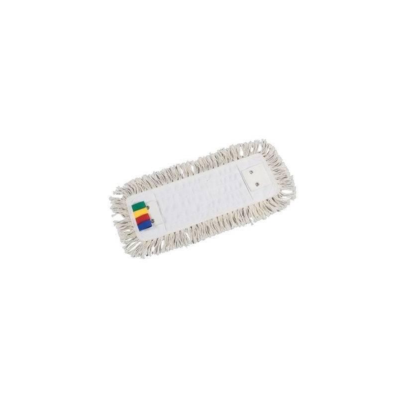 Frange coton 40 cm - 3 oeillets