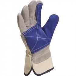 Gant paume de cuir renforce tous travaux Taille 10 - La paire