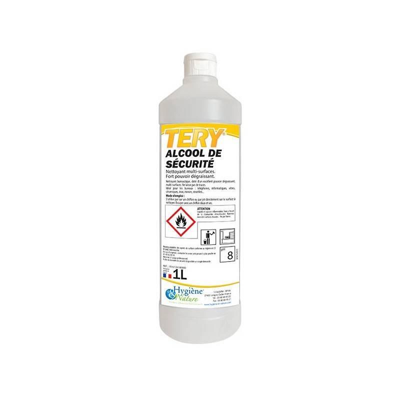 Alcool de Sécurité - Flacon 1 litre
