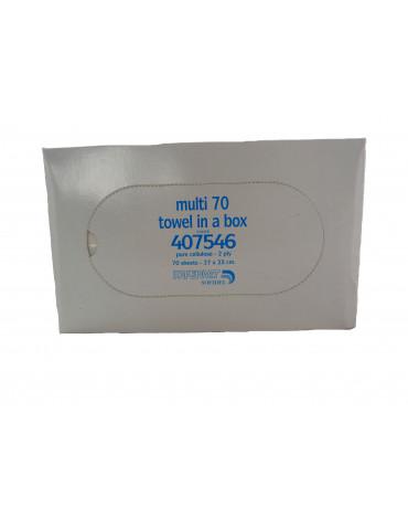 Essuie-mains boite distributrice 70 formats x200