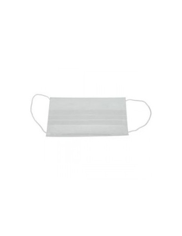 Masque blanc 2 plis - boite de 100