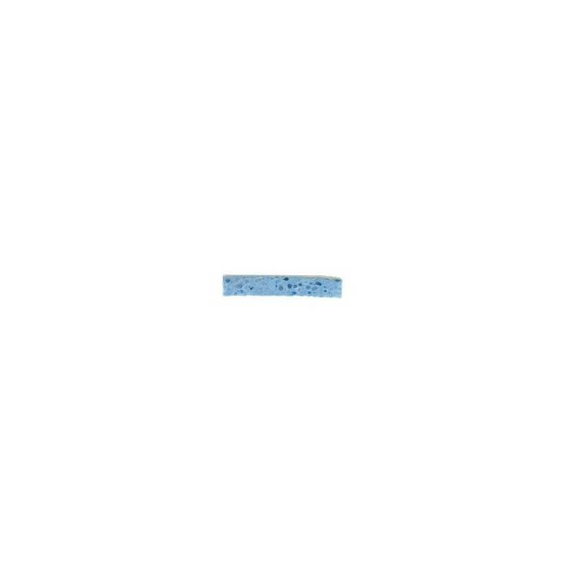 Tamponge sanitaire bleu/blanc