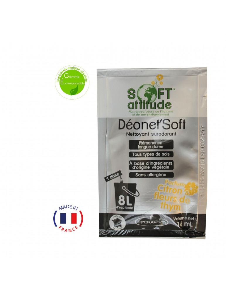 Détergent Sol - Parfum citron & fleur de thym - Ecologique