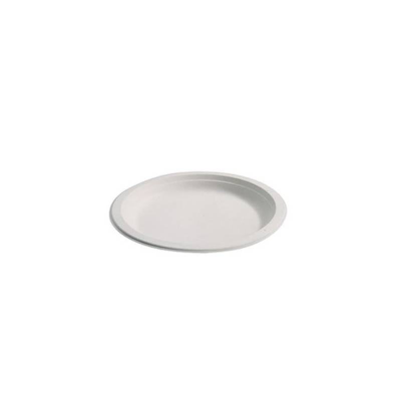 Assiette ronde Biodégradable 23 CM