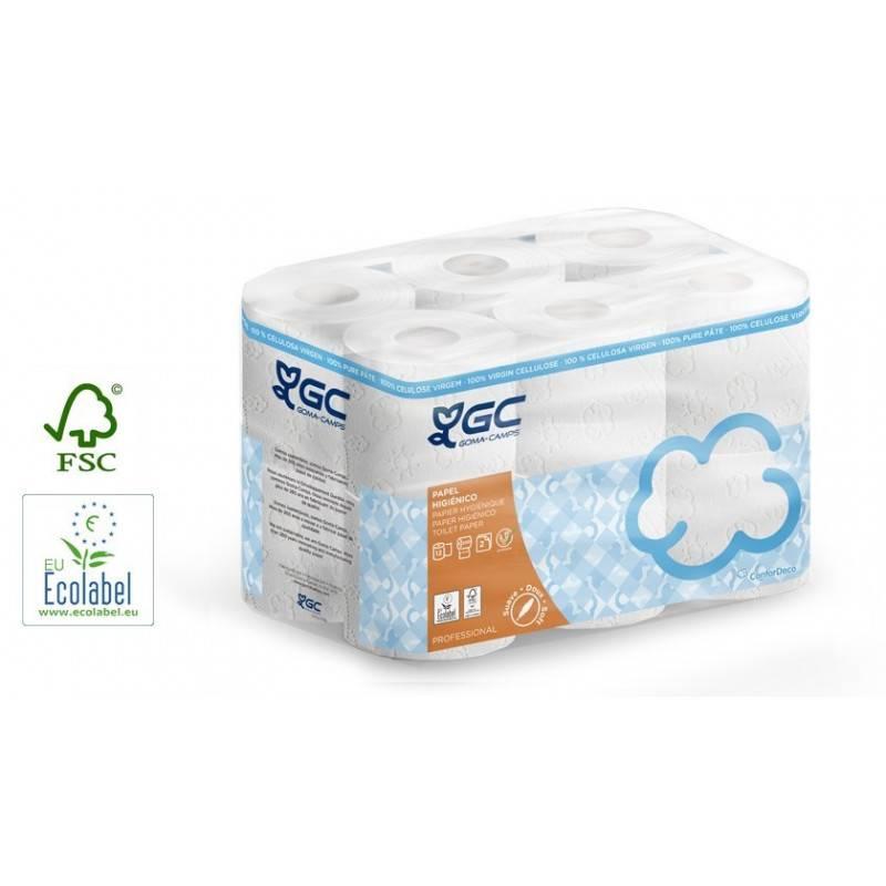 Papier toilette pure ouate -Lot de 108