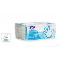 Essuie mains plat - Pliage en W - Carton de 2880
