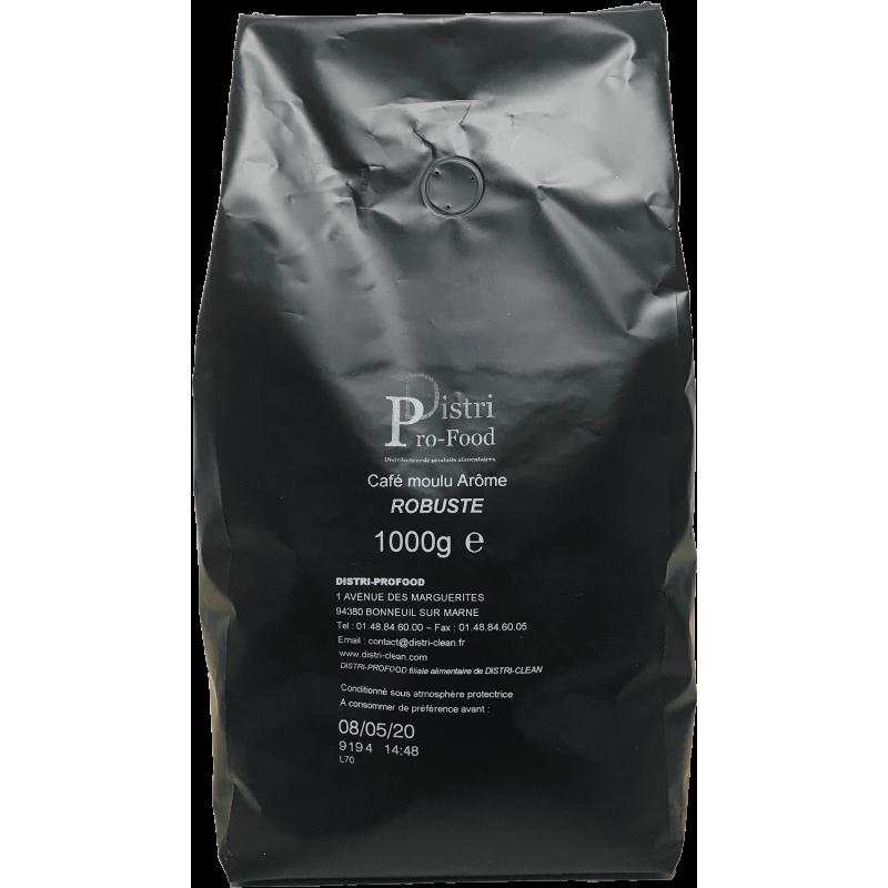 Cafe moulu - 1kg robusta