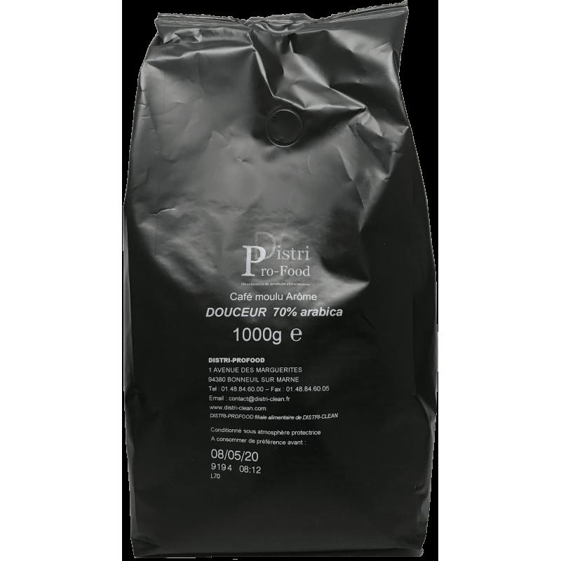 Café moulu 70% arabica - 1kg