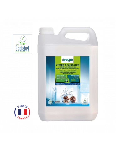 Nettoyant Vitres & Surfaces -Zero trace - Ecologique