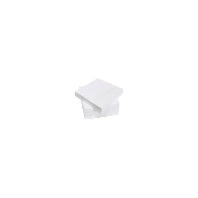 serviette de table papier blanche 1p 30 x 30 cm — carton de 3000
