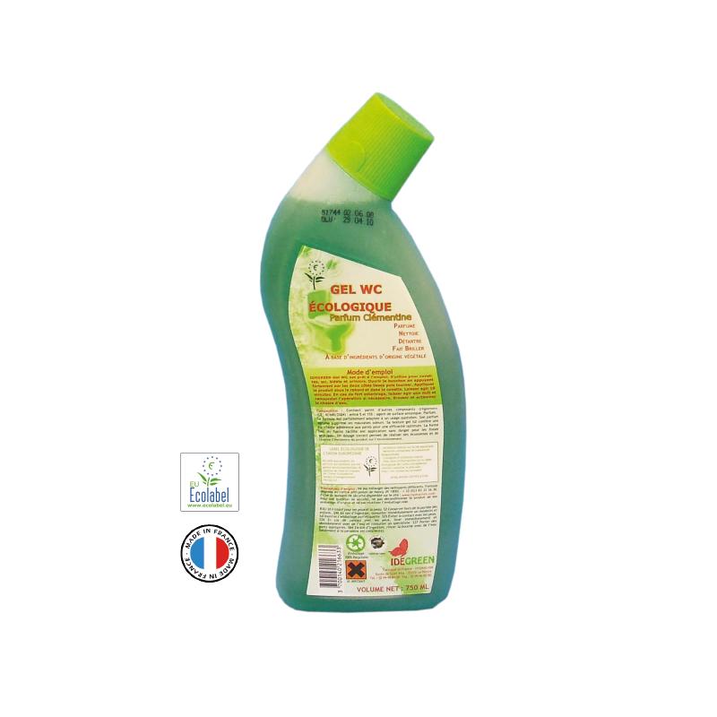 Detartrant Gel WC 750 mL Ecolabel