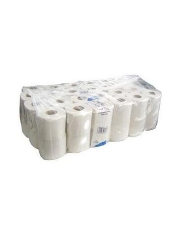 Papier toilette petit rouleau 144 F pur ouate - Lot de 48