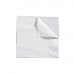 Serviette de table papier blanche 2p 30x30 cm — Carton de 3000