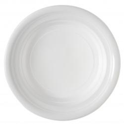 Assiette plastique creuse - Carton de 1000
