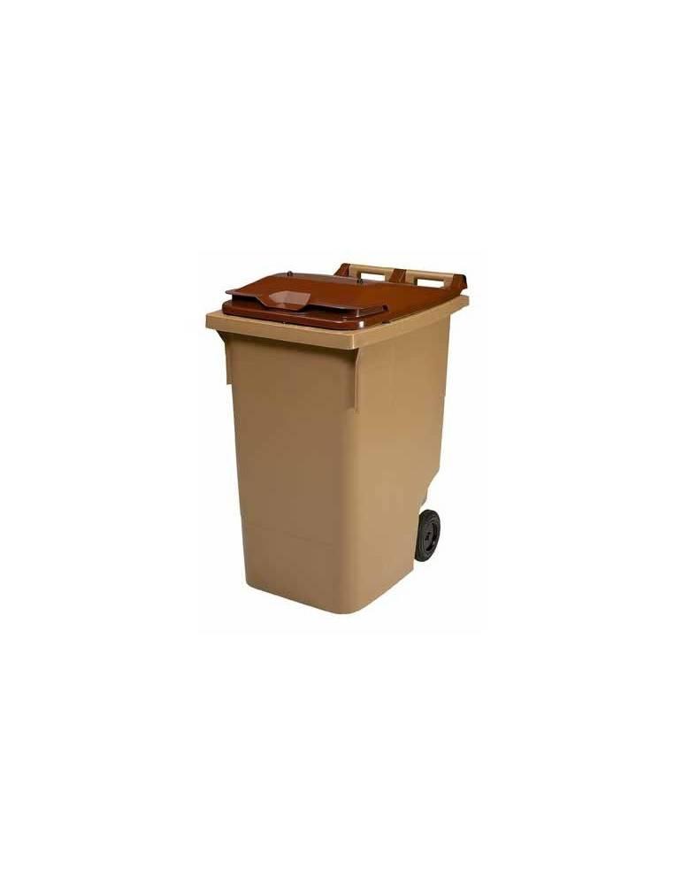 Conteneur beige / marron - 340 L