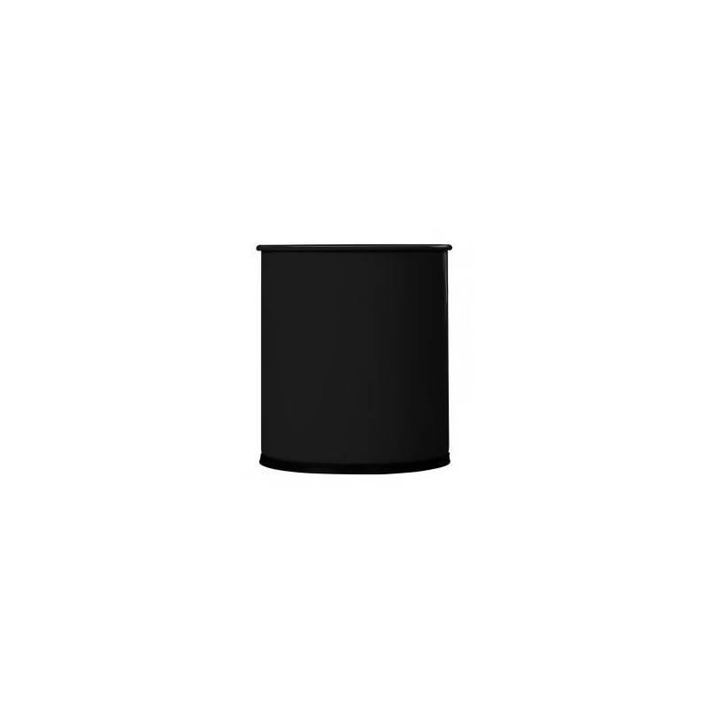 Corbeille a papier epoxy noire 15L