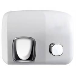 Sèche mains anti-vandale — bouton poussoir