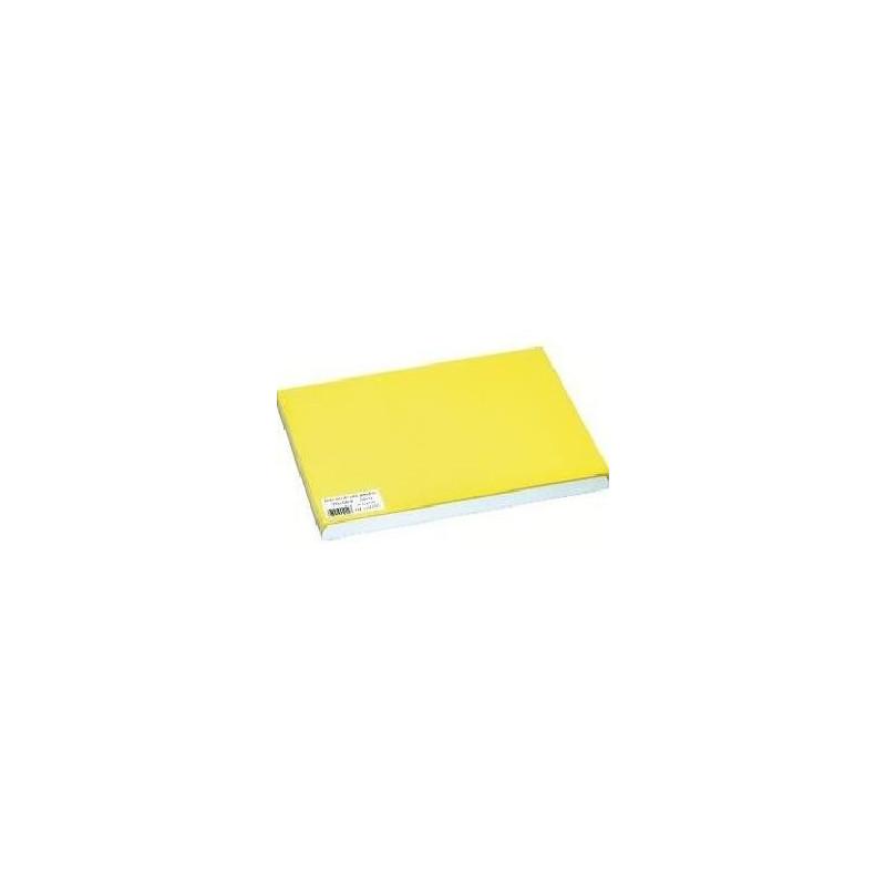 Set de table jaune 30 x 40 cm lot de 500 distri clean for Set de table jaune