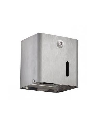 Distributeur papier toilette 200M inox