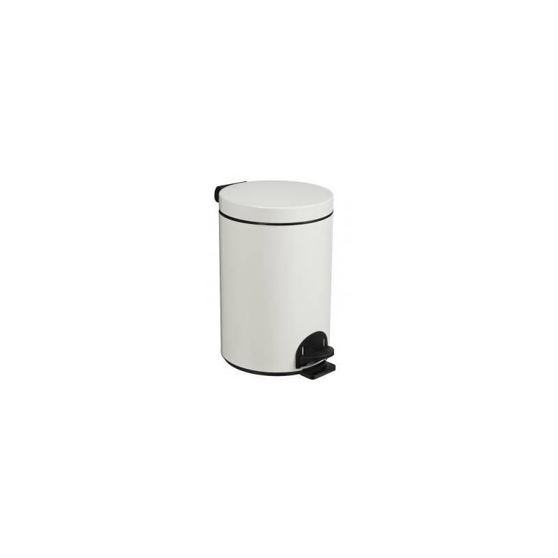 Poubelle epoxy blanche — 20 L