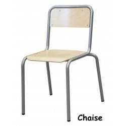 Chaise Epoxy et mélaminé