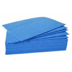 Lavette super epaisse bleue — Lot de 25