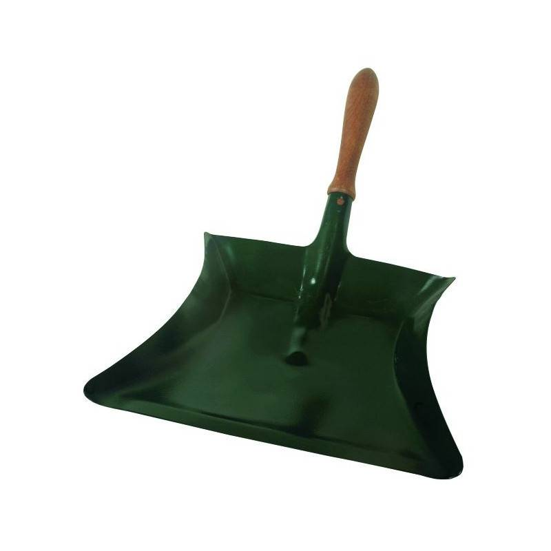 Pelle metal avec manche en bois