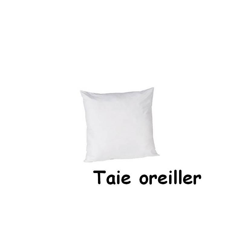 Taie oreiller 0.65 x 0.65 m polycoton